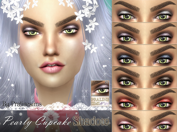 Pearly Cupcake Shadow by Pralinesims