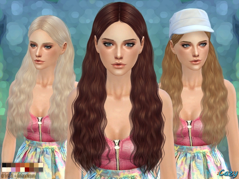 Marion - Female Hairstyle BY Cazy