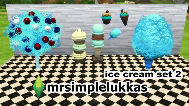 Ice cream set 2 by MrSimpleLukkas