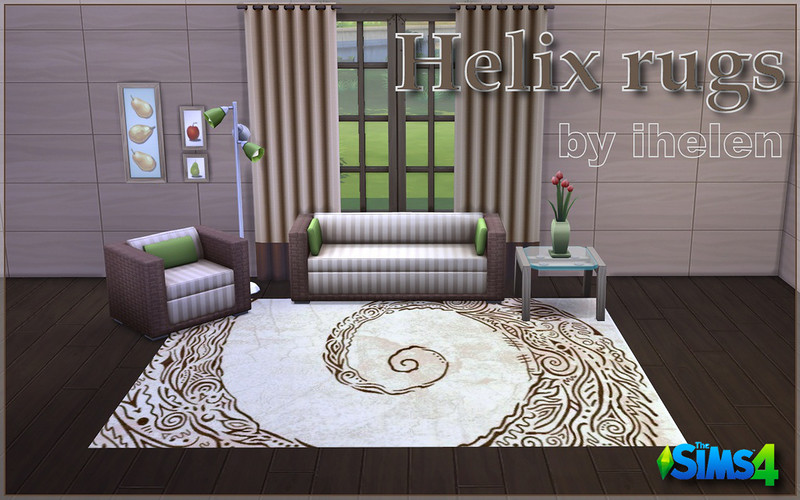 Helix rugs by ihelen