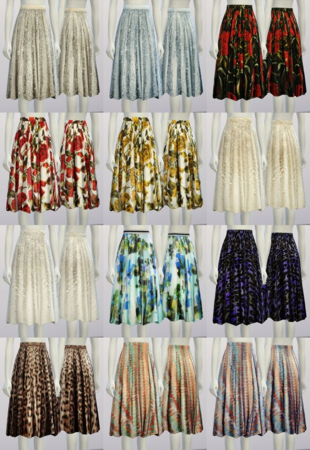Skirts for Teen - Elder Females by Rusty Nail