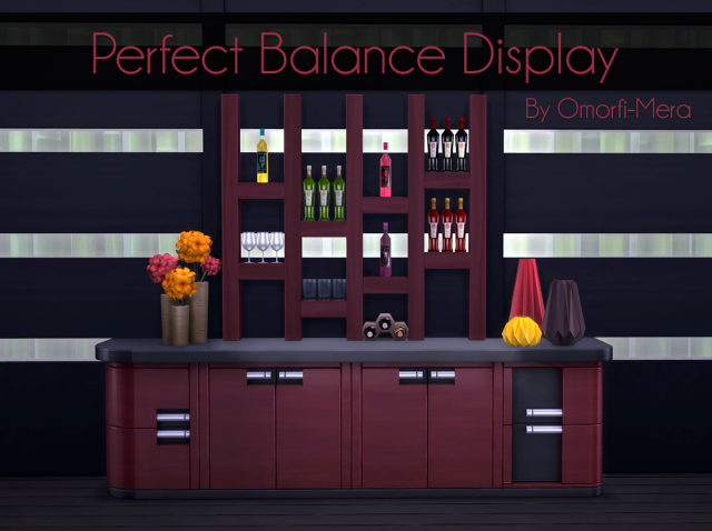 Perfect Balance Display by OmorfiMera