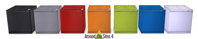 Sims 2 University Mini-Fridge by Sandy