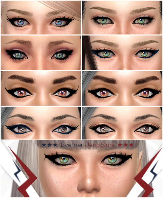 Eyeliner So Cool Vol3 by Jennisims