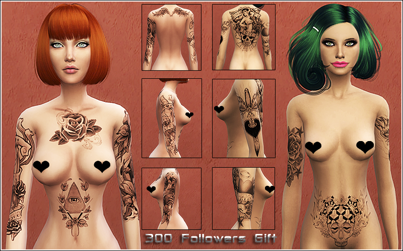 Tattoos Set by Nylsims