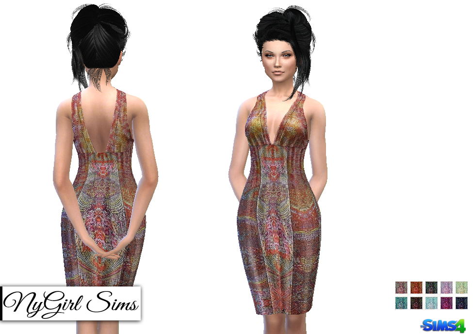 TS2 Tribal Dress Conversion by NyGirl