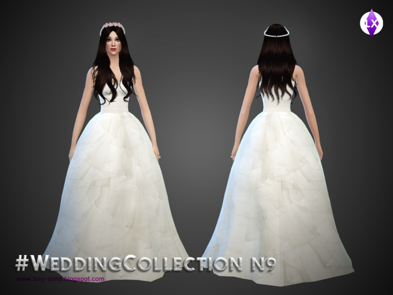 Wedding Collection N9  BY LuxySims3