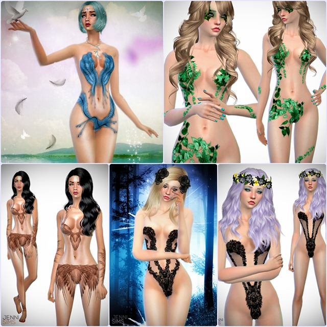 Sets Fairy Clothes by Jennisims