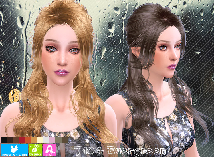 Hair J104 Euergreen by NewSea
