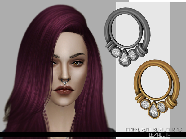 LeahLilith Indifferent Septum Ring by Leah Lillith