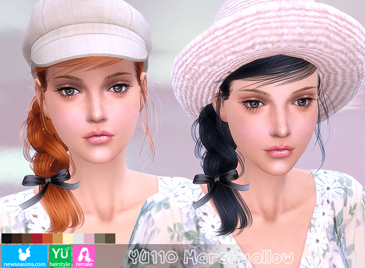 Hair YU110 Marshmallow by NewSea