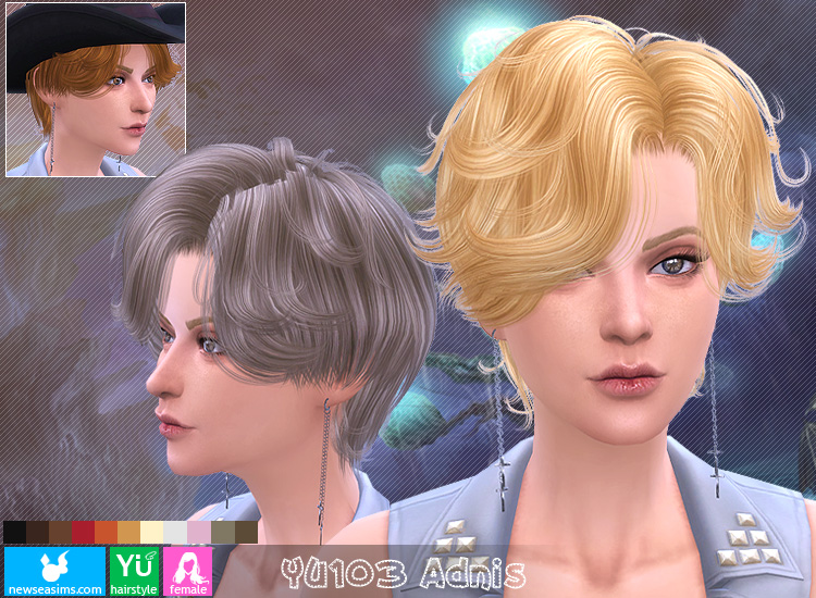 Hair YU103 by NewSea