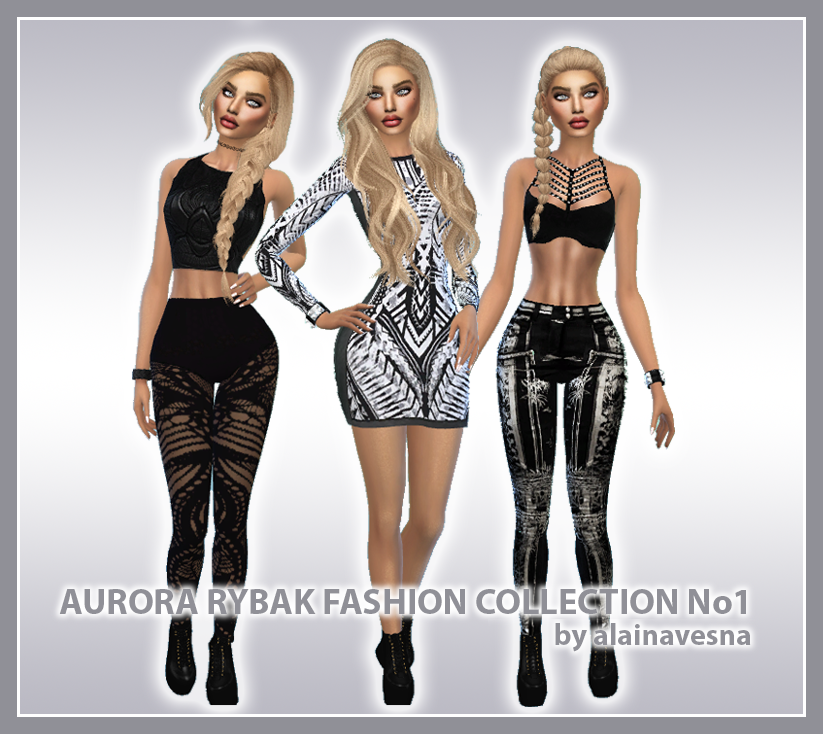 Aurora Rybak Fashion Collection No1 by AlainaVesna