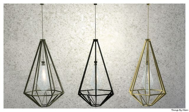 Caged Pendant Light by Dean