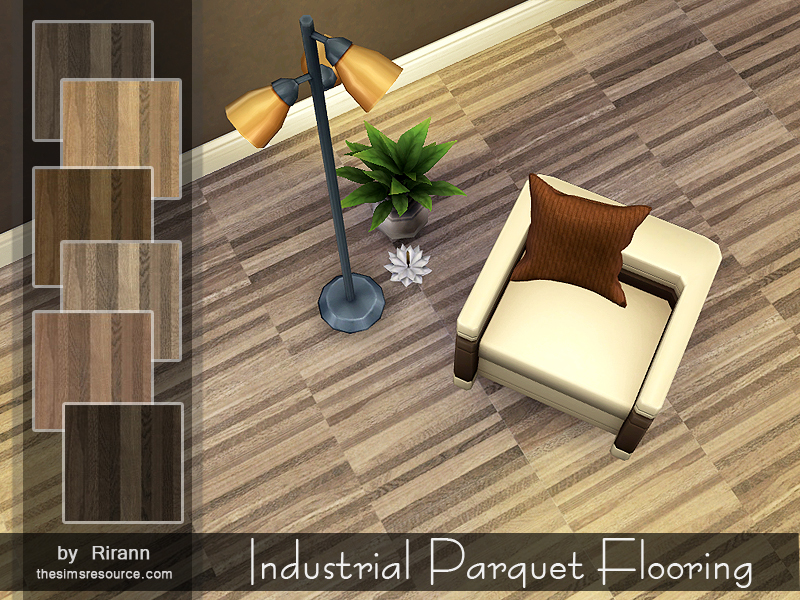 Industrial Parquet Flooring BY Rirann