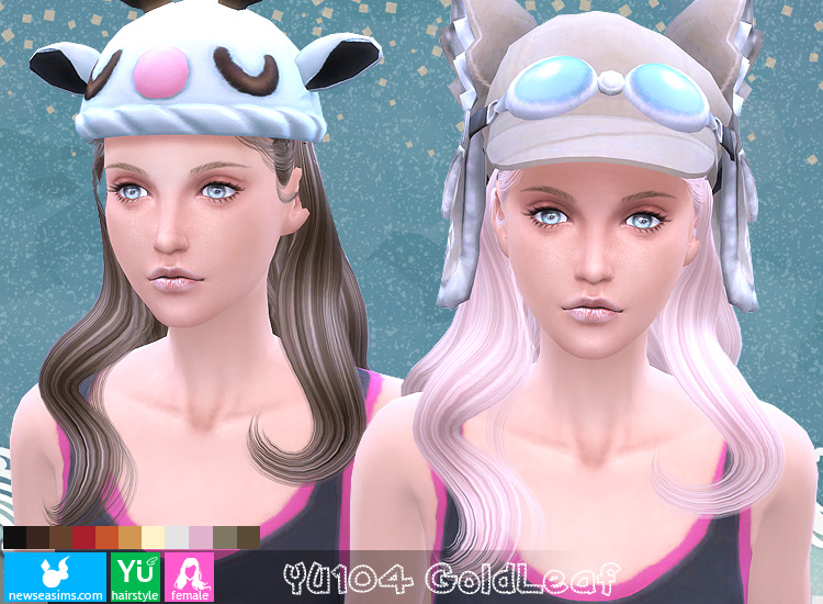 Hair YU104 by NewSea