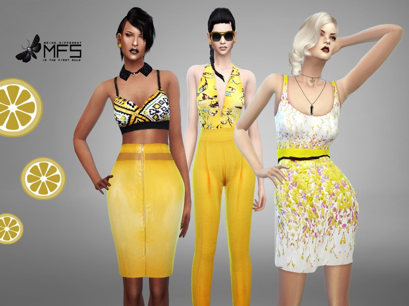 MFS Yellow Mood Collection  BY MissFortune