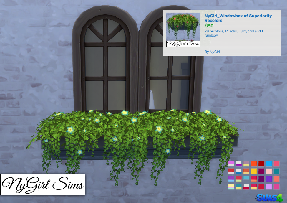 Window Box Recolors от NyGirl