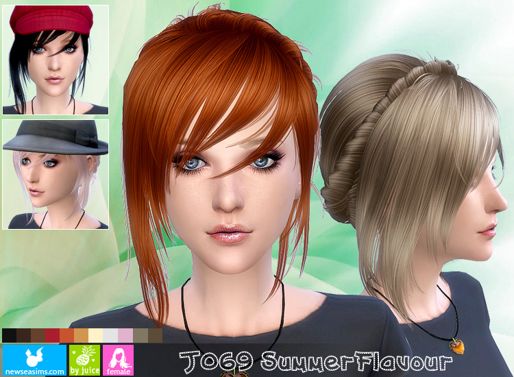 Hair J069 by NewSea