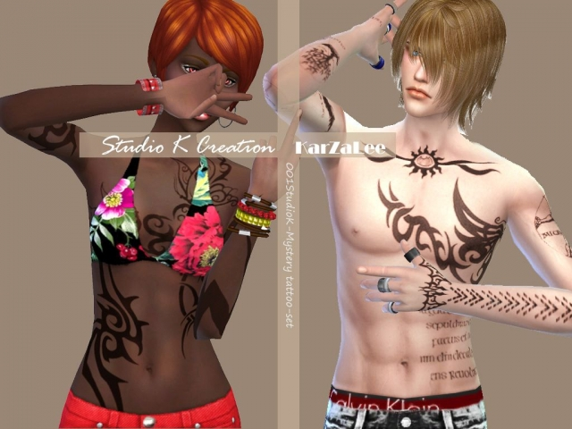 Full Body Tattoos for Males & Females by Karzalee
