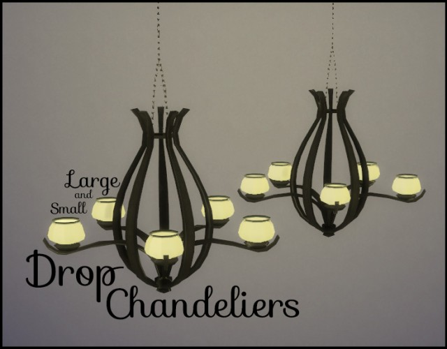 Drop Chandeliers by PearlStitches