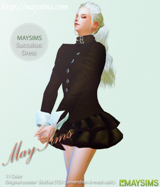 Succubus Outfit от MaySims