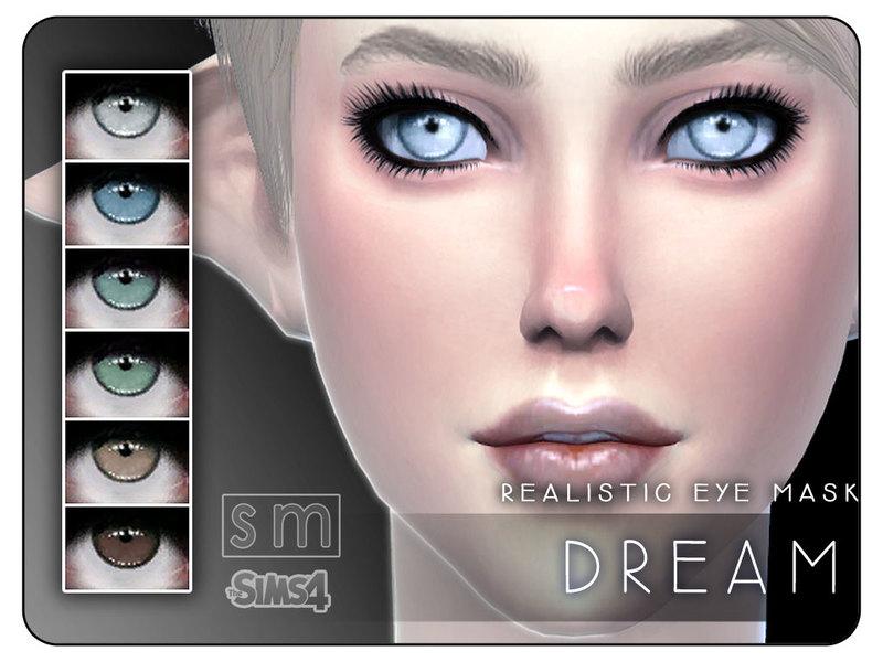 [ Dream ] - Realistic Eye Mask   BY Screaming Mustard