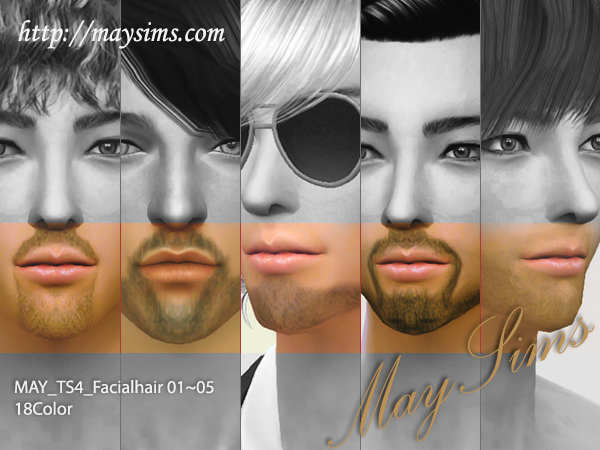 Facian Hair от MaySims