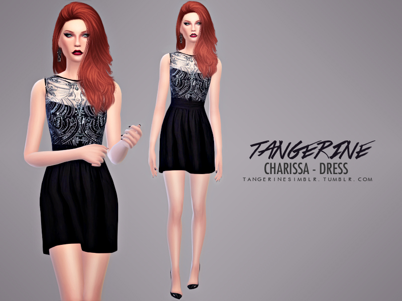 Charissa - Dress BY tangerinesimblr