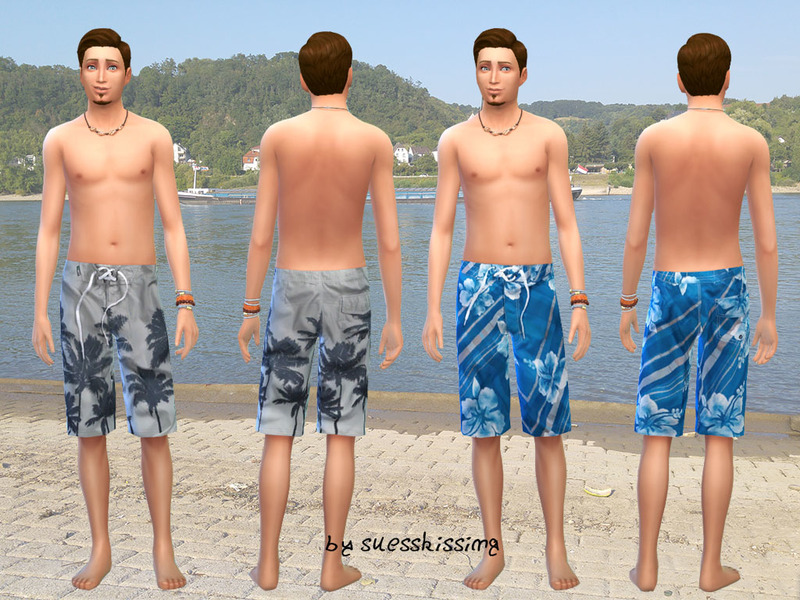 Male Swimshorts Set BY suesskissing