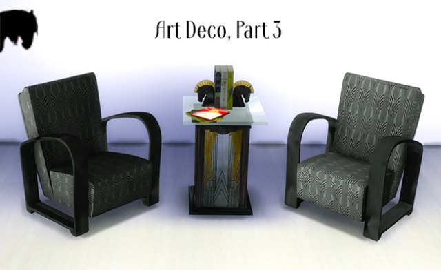 Art Deco Set Part 3 by TKAngie