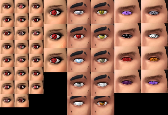 Naruto Eyes by Raizon