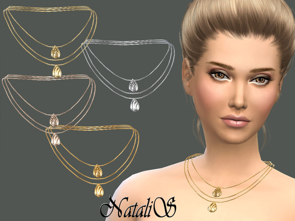 NataliS_Three layer chain with pendants