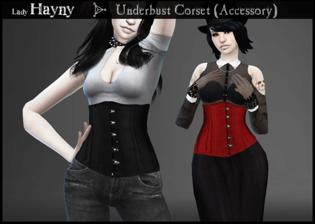 Underbust Corset Accessory by LadyHayny
