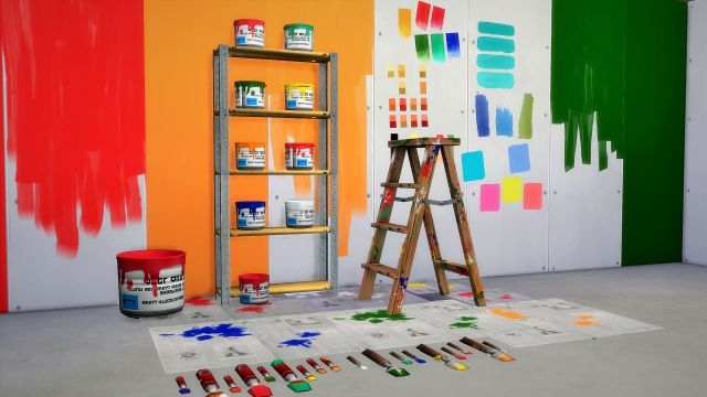 The DIY Painter Set by Budgie2budgie