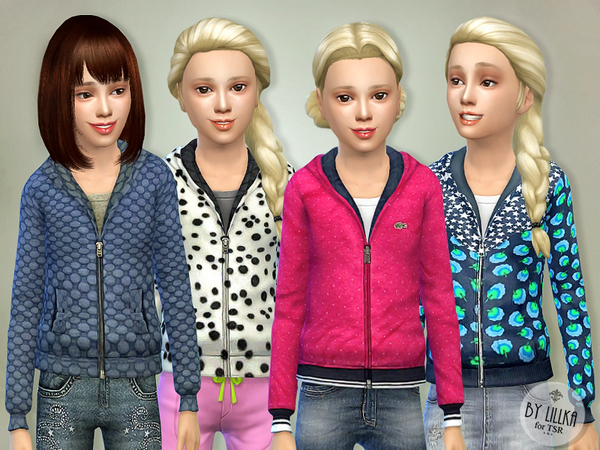 Jackets for Girls P01 by lillka