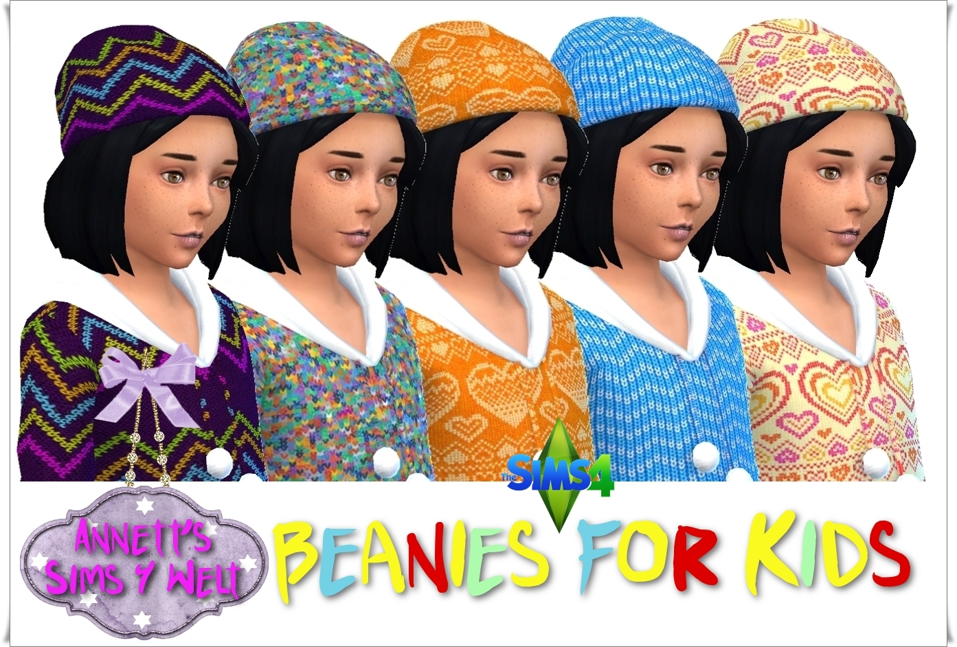 Beanies for Girls by Annett85