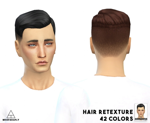 EA ShortCrewCutSidePart / 42 colors by MissParaply