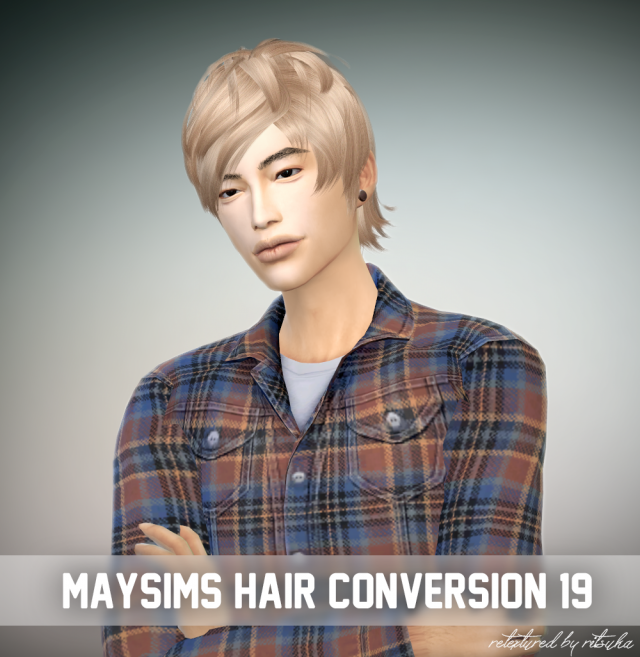 Newsea Male Hair Conversion Retexture by Ritsuka