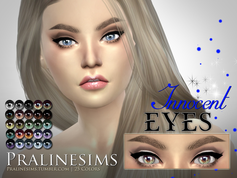 Crystal Eyes Megapack~ 5 Different Eyes  BY Pralinesims
