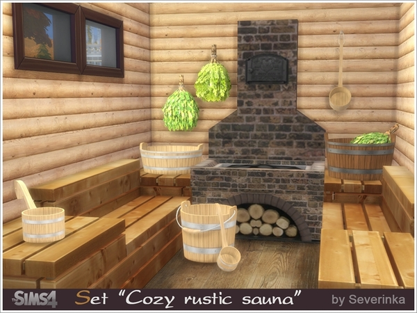 Cozy rustic sauna by Severinka