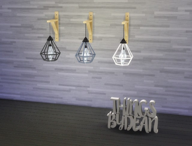Wall Mounted Cage Light by Dean