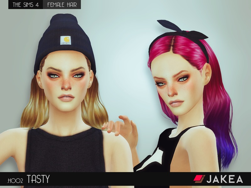 JAKEA - H002 - TASTY (Female Hair) BY JK-Sims