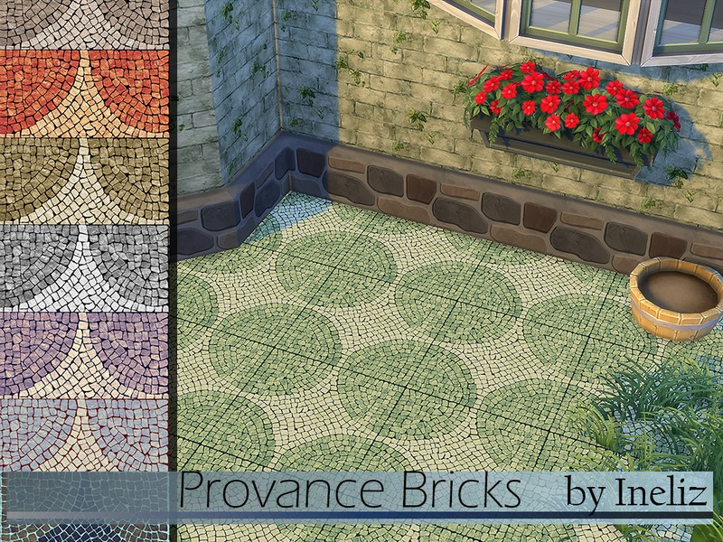 Provance Bricks BY Ineliz