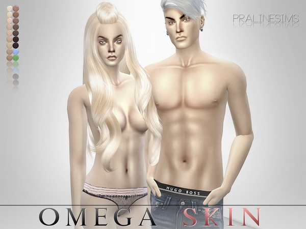 Omega Skin  All Ages - All Genders by Pralinesims