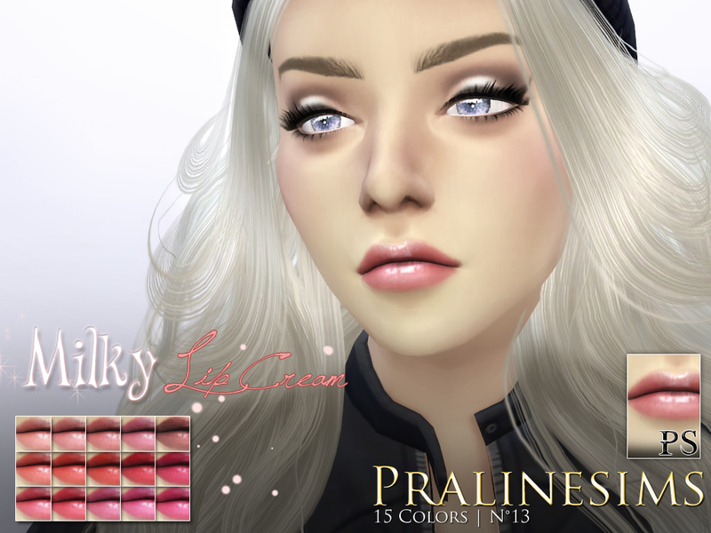 Milky Lip Cream Duo (+Teeth) BY Pralinesims