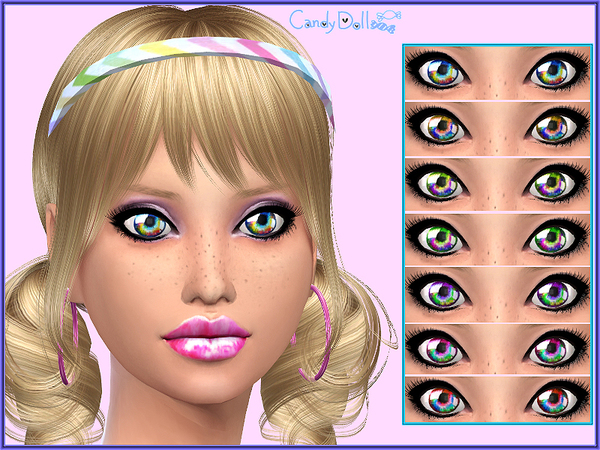 Candy Doll Star Bright Eyes by DivaDelic06
