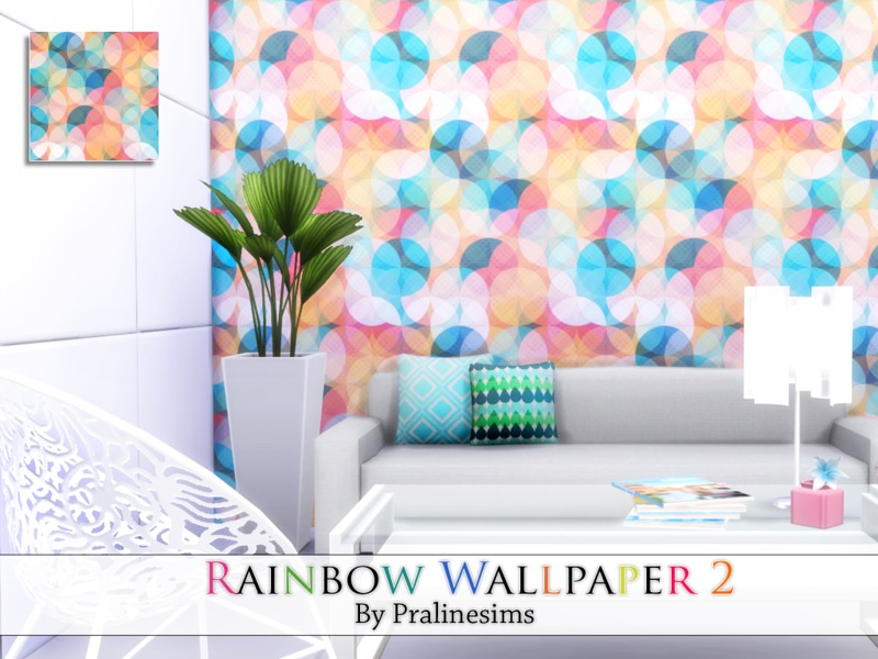 Rainbow Wallpaper 2 BY Pralinesims
