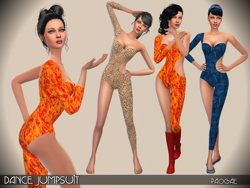 DanceJumpsuit  BY Paogae