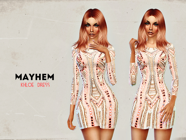 Khlo Dress by NataliMayhem